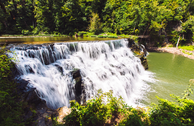Waterloo Falls near Cookeville, TN