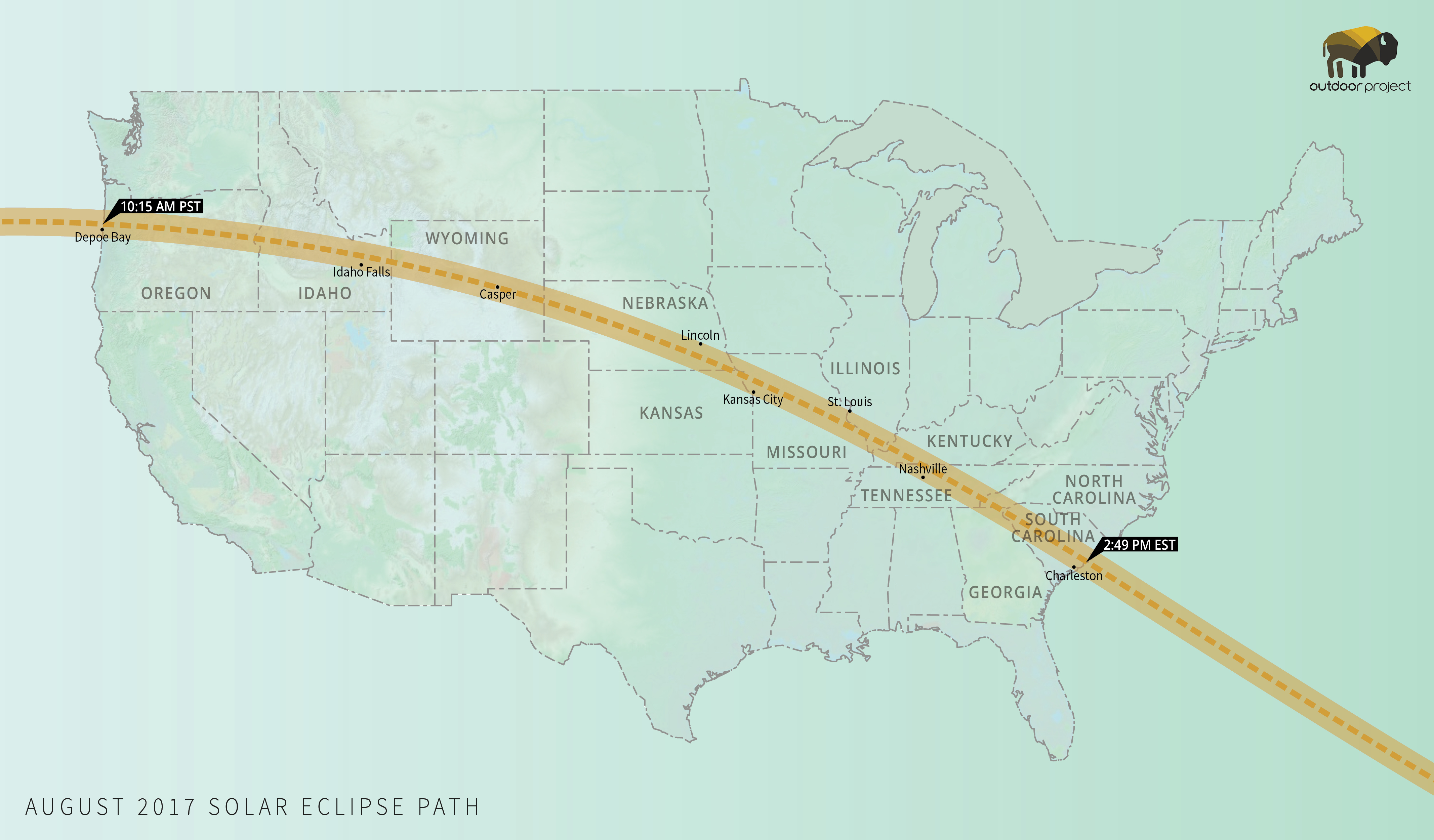 Where To Watch August S Solar Eclipse Outdoor Project