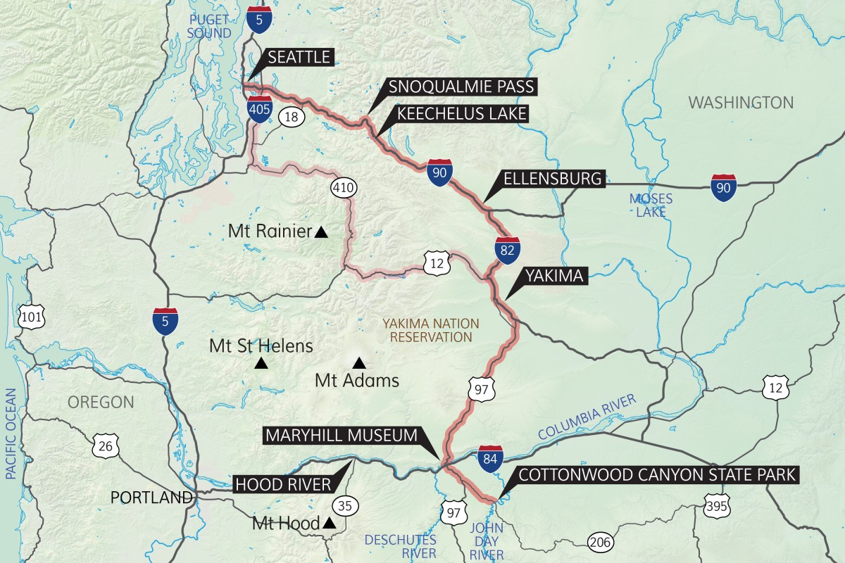Snoqualmie Pass And Keechelus Lake Provide A Taste Of The Cascade Mountains