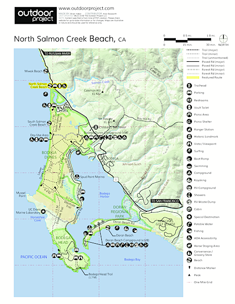 North Salmon Creek  Map