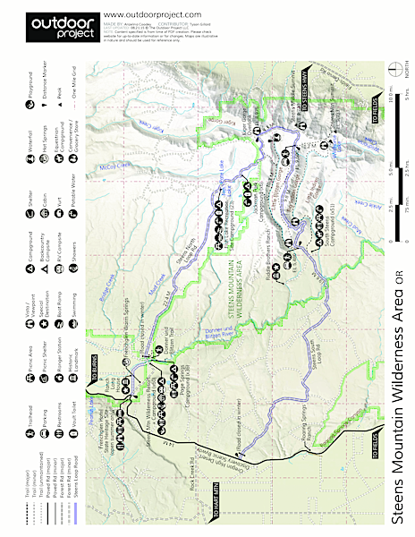 Page Springs Campground Map