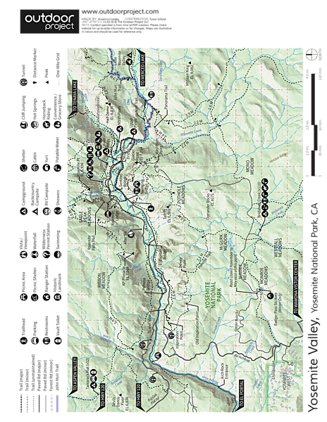 Tunnel View Map