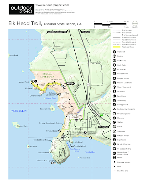 Elk Head Trail Trail Map