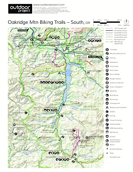Larison Creek Trail Map