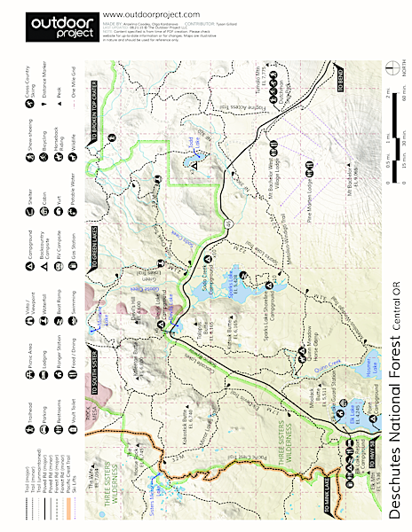 Elk Lake Resort Campground Map