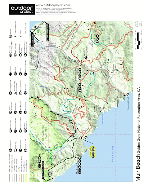 Muir Beach Map