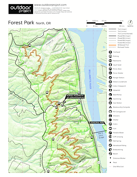 Forest Park Map