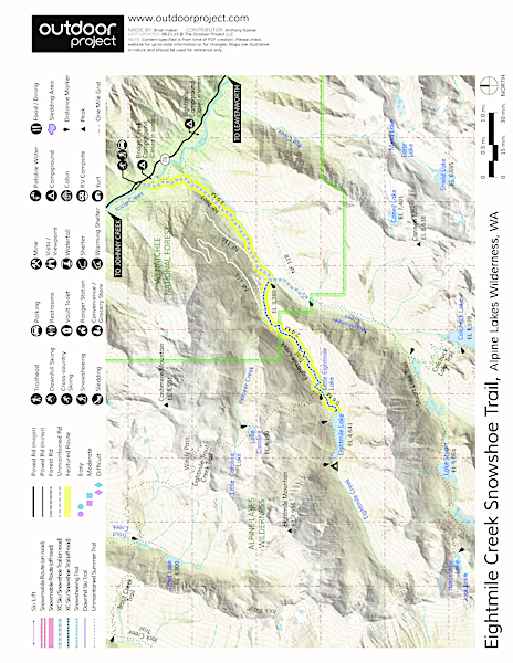 Eightmile Creek Map