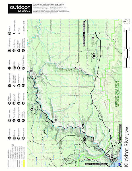 Lyle Cherry Orchard Trail Map