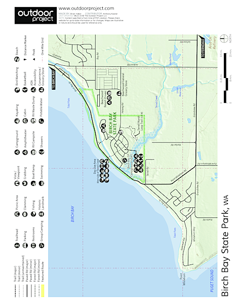 Birch Bay State Park Map