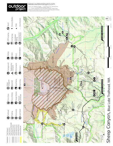 Sheep Canyon Trail Map