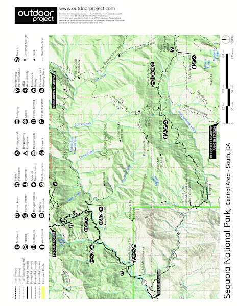 Wuksachi Lodge Map