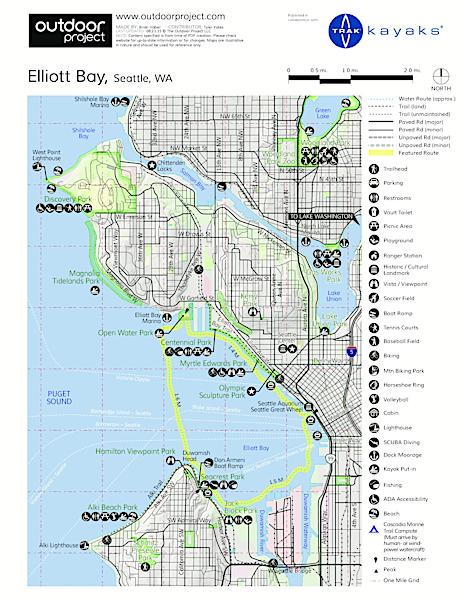 Elliott Bay Sea Kayaking | Outdoor Project