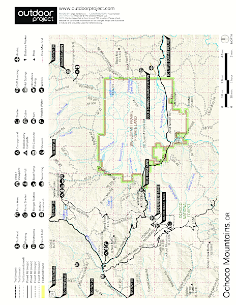 Walton Lake Campground Map