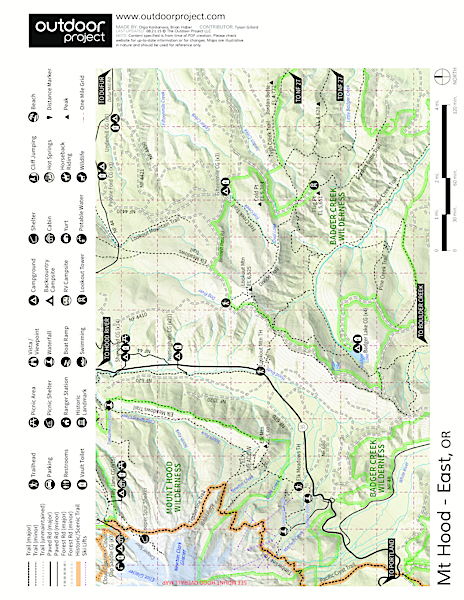 Sherwood Campground Campground Map