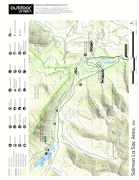 Owhi Campground Map