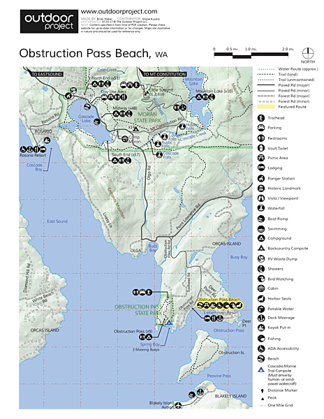 Language In 45 And 47 Stella Street: Orcas Island: Obstruction Pass Beach