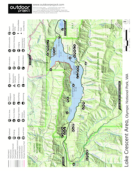 Mount Storm King Trail Trail Map