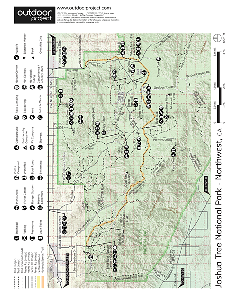 Arch Rock Nature Trail Trail Map