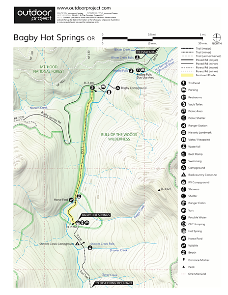 Bagby Hot Springs | Outdoor Project