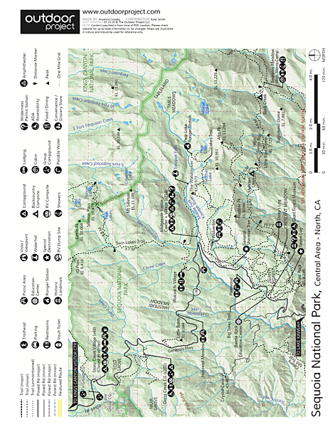 Marble Falls Trail Map