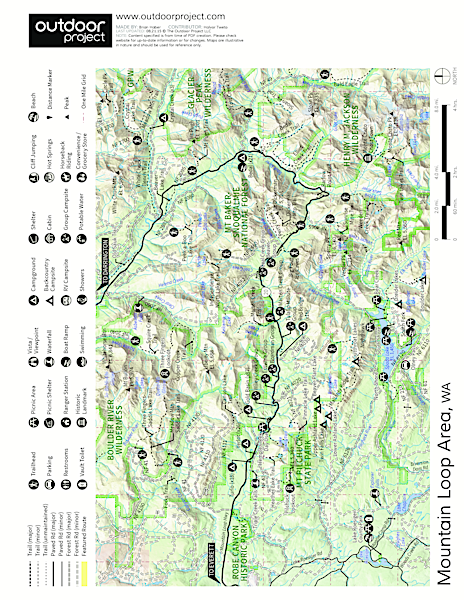 Boardman Creek Group Campground Map