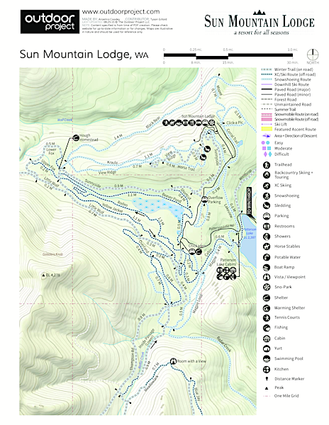 Patterson Lake Cabins Map