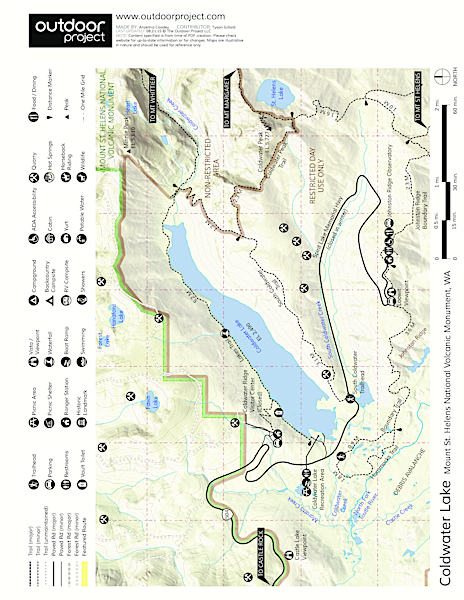 Coldwater Lake Map