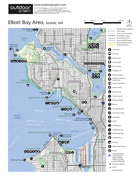 Alki Point Lighthouse Map