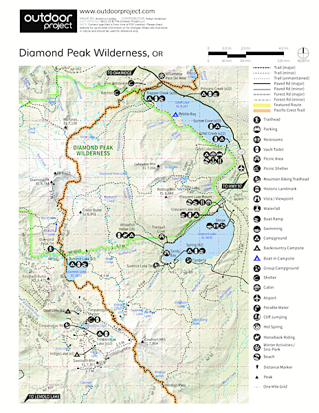 Timpanogas Shelter Map