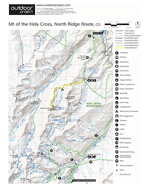 Mount of the Holy Cross, North Ridge Route | Outdoor Project