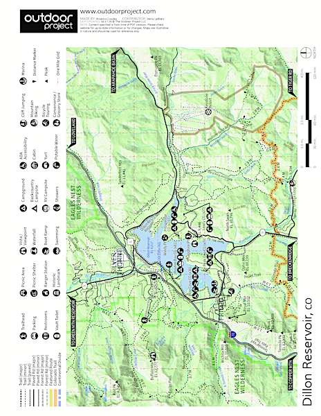 Prospector Campground Map