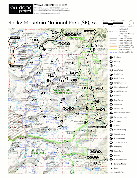 Olive Ridge Campground Map
