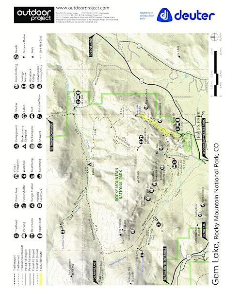 Gem Lake Hike via Lumpy Ridge Trailhead | Outdoor Project