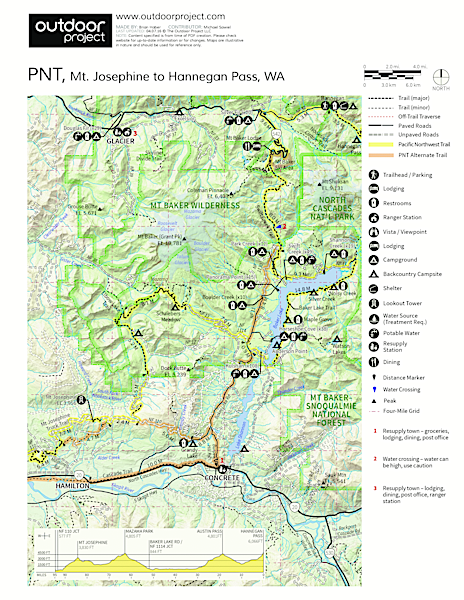 Pacific Northwest National Scenic Trail Section 11 Field Guide
