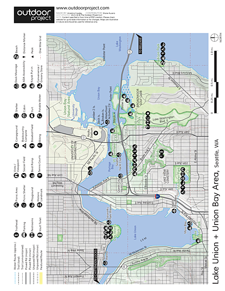Volunteer Park Map