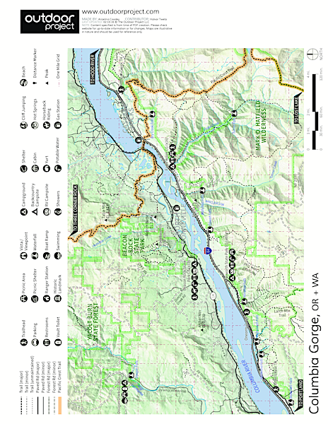 Eagle Creek Campground Map