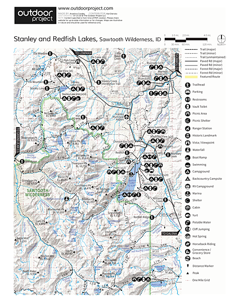 Point Campground Map
