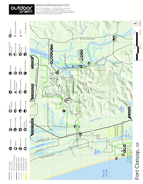 Fort Clatsop Oregon - Fort clatsop on map of us