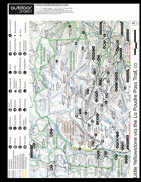 Little Yellowstone via the La Poudre Pass Trail Outdoor Project