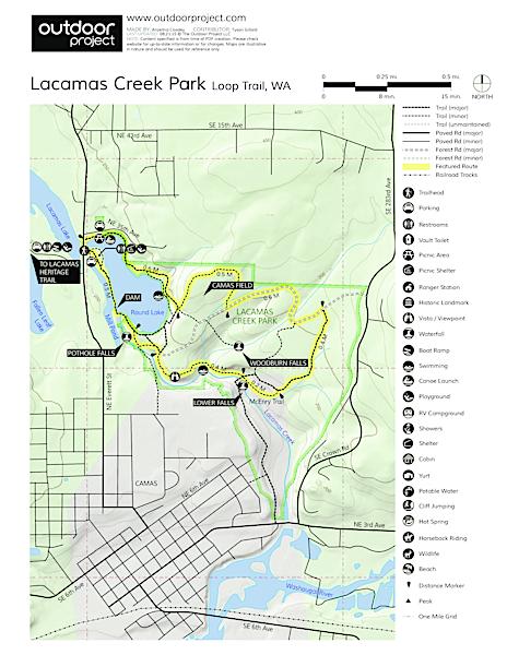 Lacamas Creek Loop Trail | Outdoor Project