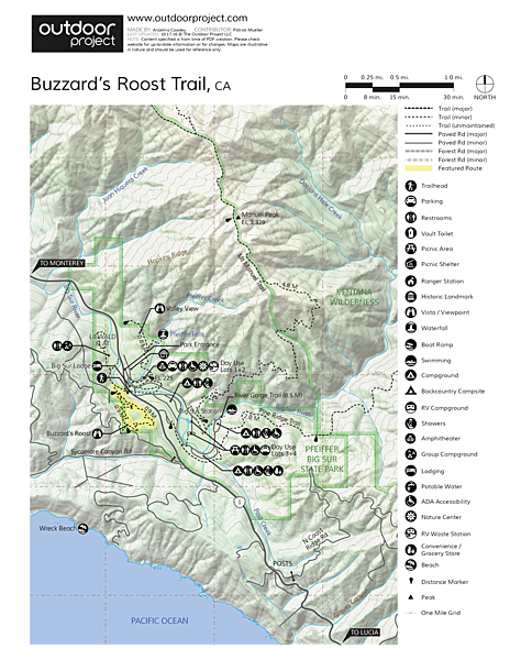 Buzzard\'s Roost Trail   Outdoor Project