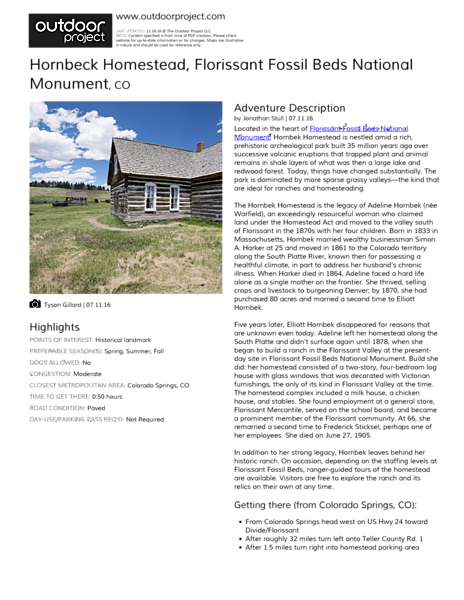 Hornbeck Homestead Field Guide