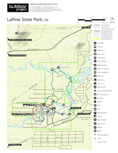 LaPine State Park  Oregon