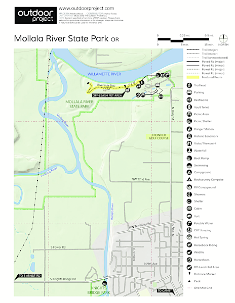 Molalla River State Park Map