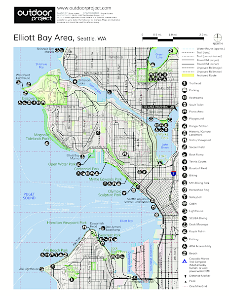Lake Union Map