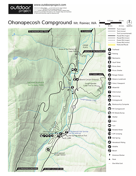 Ohanapecosh Campground Outdoor Project