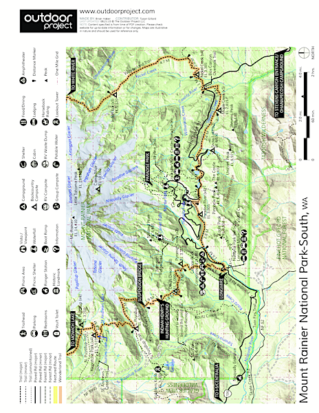 Nisqually Vista Trail Trail Map