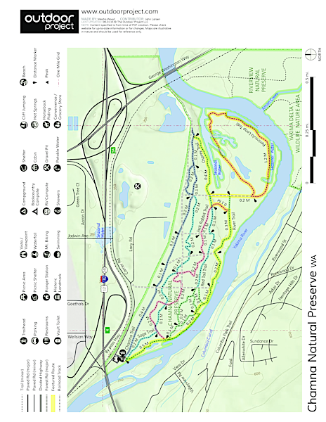 Chamna Natural Preserve Map