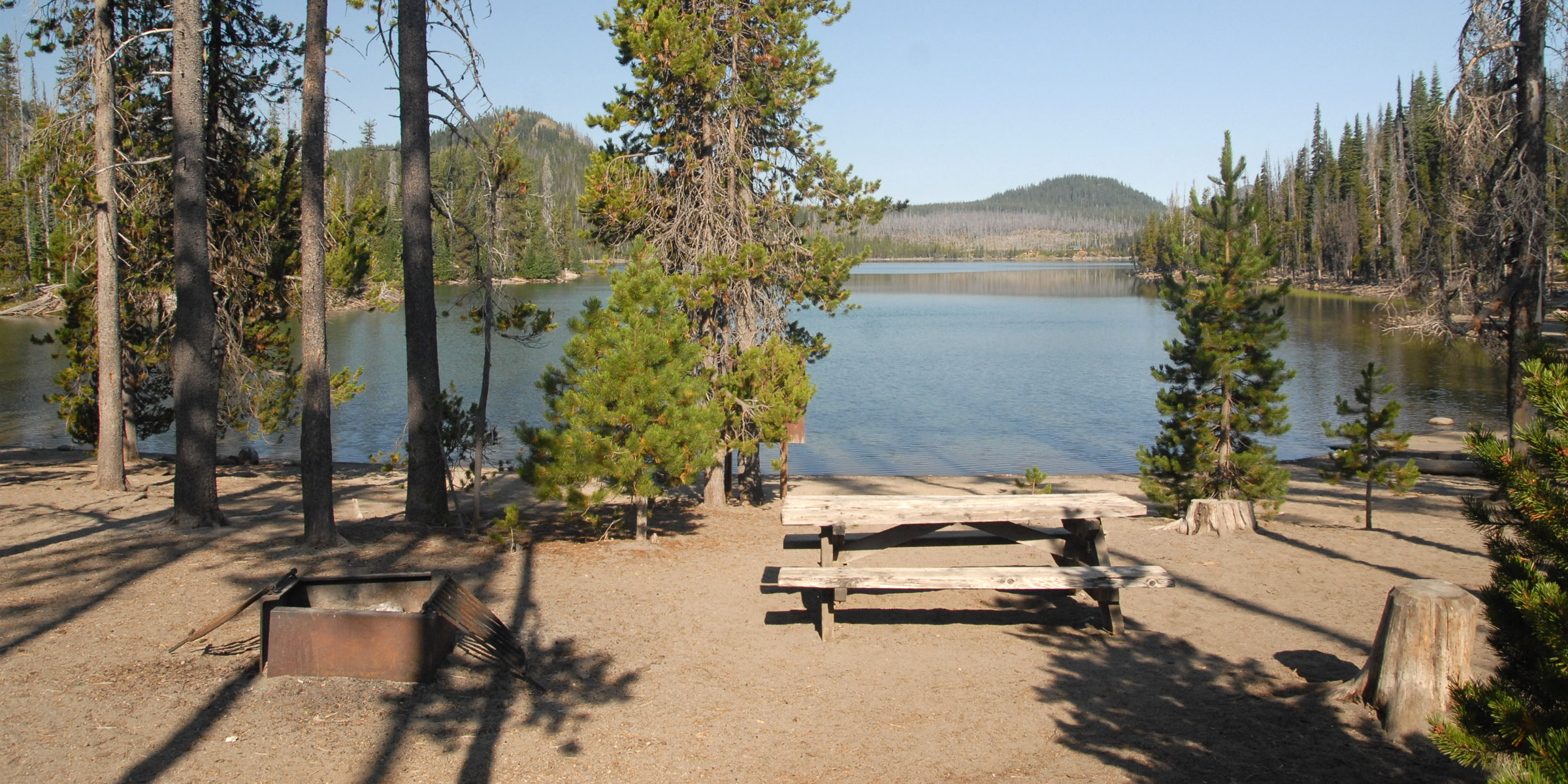 Elk Lake, Little Fawn Campground - camping in Oregon